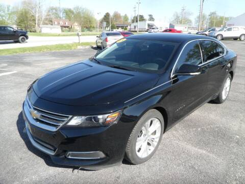 2015 Chevrolet Impala for sale at CARSON MOTORS in Cloverdale IN
