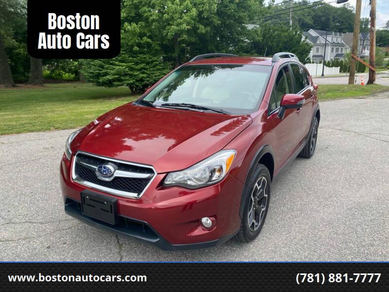 2015 Subaru XV Crosstrek for sale at Boston Auto Cars in Dedham MA