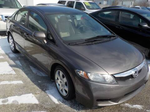 2011 Honda Civic for sale at SEBASTIAN AUTO SALES INC. in Terre Haute IN