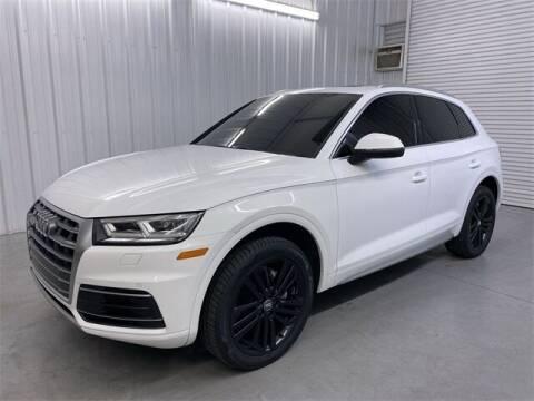 2018 Audi Q5 for sale at JOE BULLARD USED CARS in Mobile AL