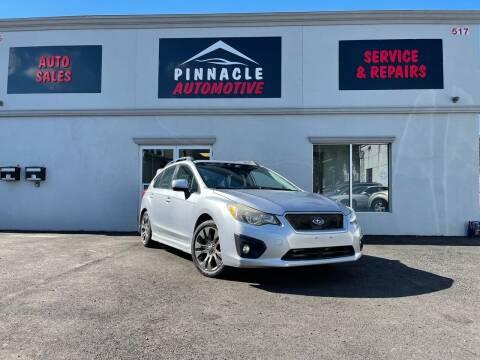2012 Subaru Impreza for sale at Pinnacle Automotive Group in Roselle NJ