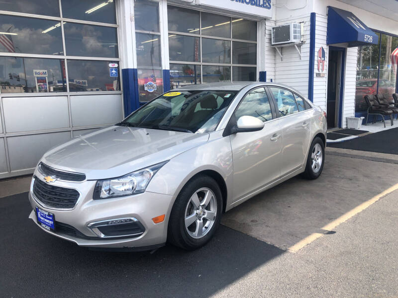 2016 Chevrolet Cruze Limited for sale at Jack E. Stewart's Northwest Auto Sales, Inc. in Chicago IL