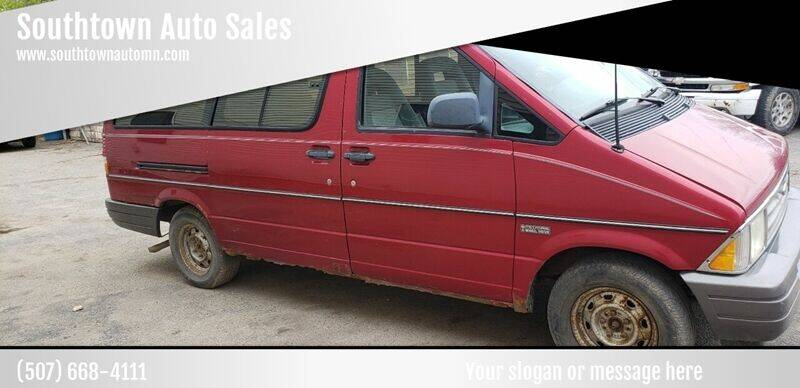 1996 Ford Aerostar for sale at Southtown Auto Sales in Albert Lea MN