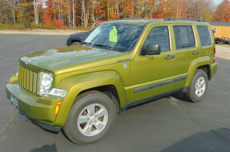 2012 Jeep Liberty for sale at Greg's Auto Sales in Searsport ME