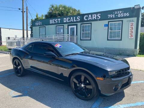 2010 Chevrolet Camaro for sale at Best Deals Cars Inc in Fort Myers FL