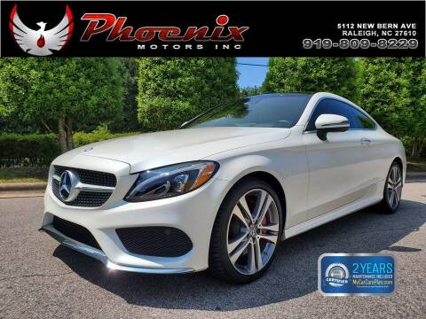 2017 Mercedes-Benz C-Class for sale at Phoenix Motors Inc in Raleigh NC