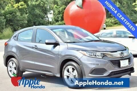 2021 Honda HR-V for sale at APPLE HONDA in Riverhead NY