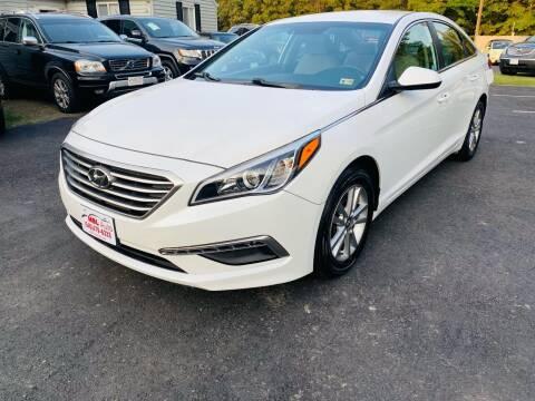 2015 Hyundai Sonata for sale at MBL Auto in Fredericksburg VA