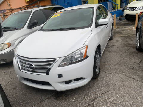 2014 Nissan Sentra for sale at Auto Brokers of Jacksonville in Jacksonville FL