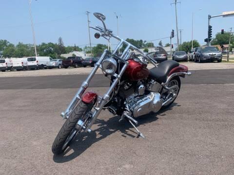 2009 HARLEY DAVIDSON FXSTC for sale at Posen Motors in Posen IL