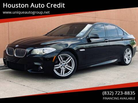 2012 BMW 5 Series for sale at Houston Auto Credit in Houston TX