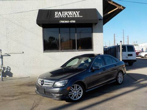 2011 Mercedes-Benz C-Class for sale at FAIRWAY AUTO SALES, INC. in Melrose Park IL
