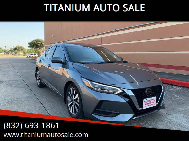 2020 Nissan Sentra for sale at TITANIUM AUTO SALE in Houston TX
