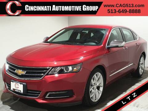 2015 Chevrolet Impala for sale at Cincinnati Automotive Group in Lebanon OH