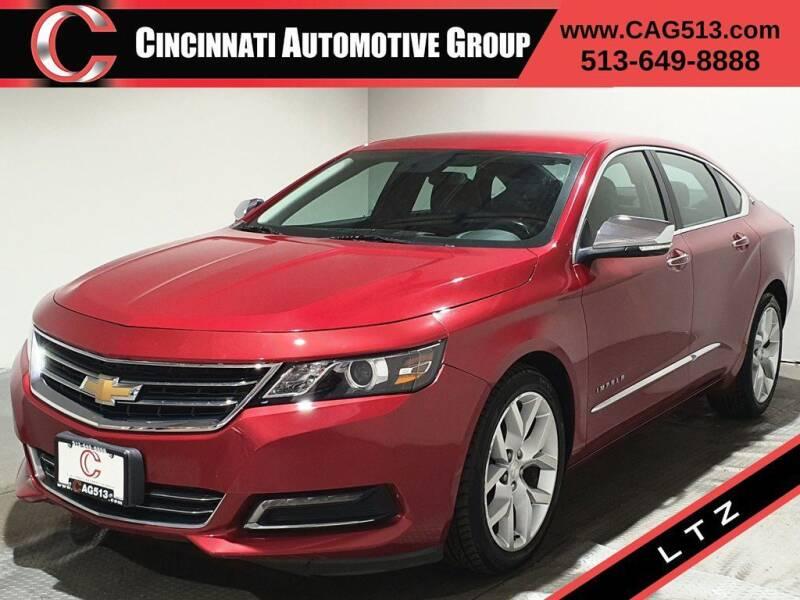 2015 Chevrolet Impala for sale at Cincinnati Automotive Group in Lebanon OH