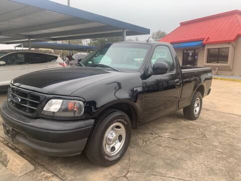 2002 Ford F-150 for sale at FORD'S AUTO SALES in Houston TX