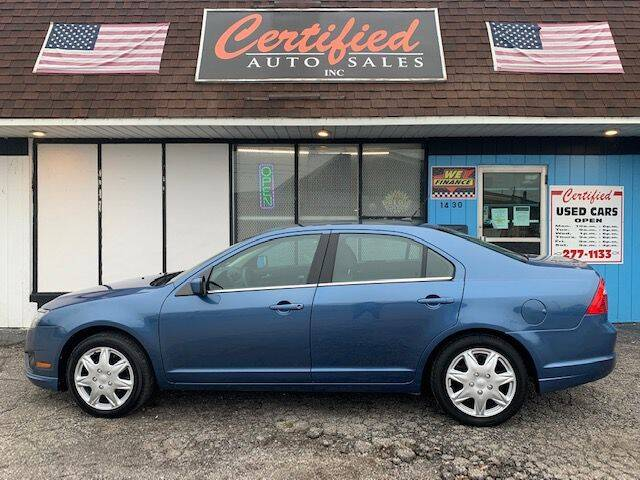 2010 Ford Fusion for sale at Certified Auto Sales, Inc in Lorain OH