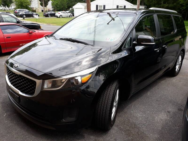 2015 Kia Sedona for sale at GALANTE AUTO SALES LLC in Aston PA