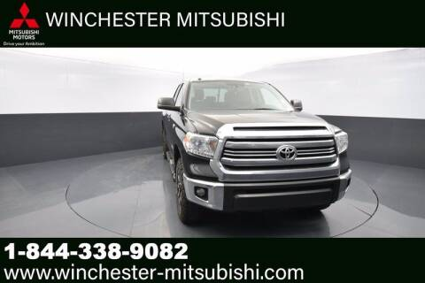 2017 Toyota Tundra for sale at Winchester Mitsubishi in Winchester VA