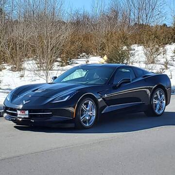 2017 Chevrolet Corvette for sale at R & R AUTO SALES in Poughkeepsie NY