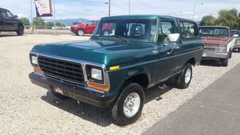 1979 Ford Bronco for sale at AUTO BROKER CENTER in Lolo MT