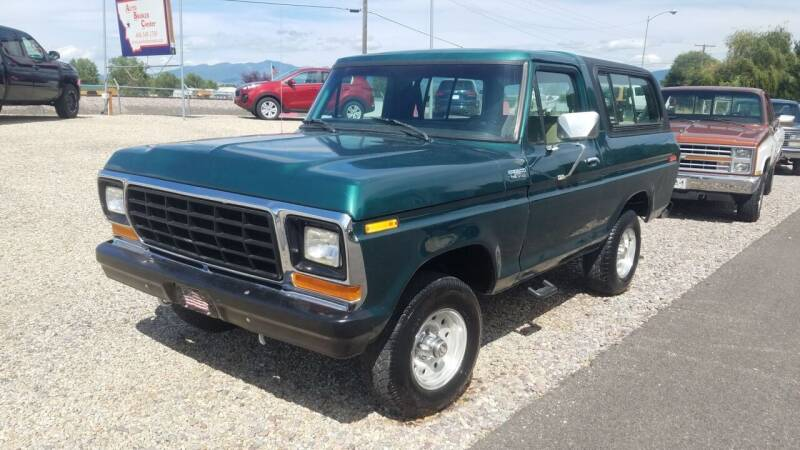 1979 Ford Bronco for sale at AUTO BROKER CENTER in Lolo MT