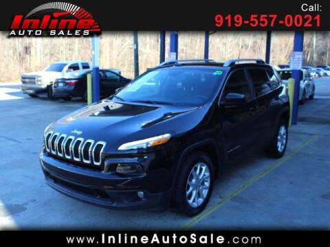2016 Jeep Cherokee for sale at Inline Auto Sales in Fuquay Varina NC