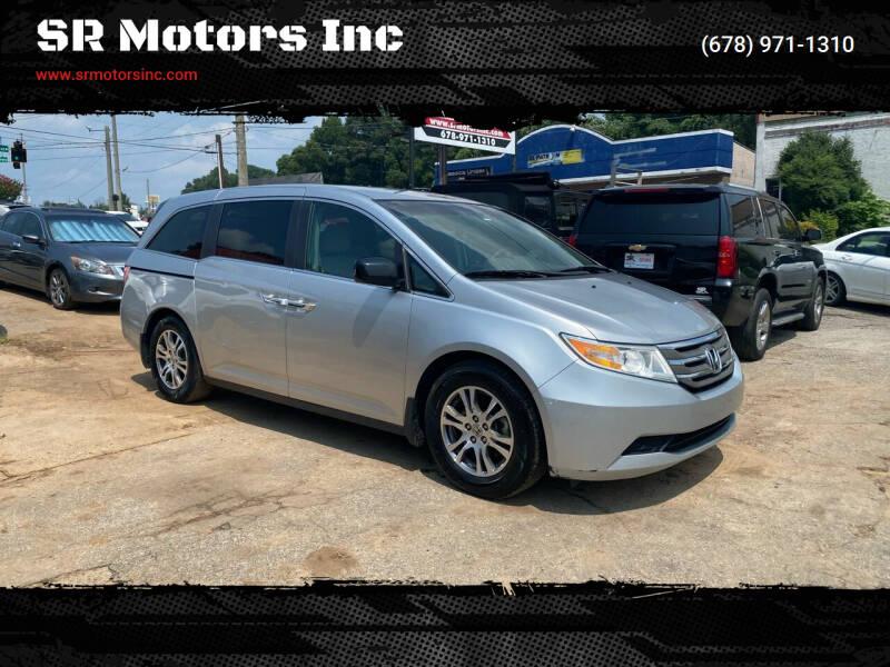 2011 Honda Odyssey for sale at SR Motors Inc in Gainesville GA