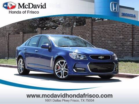 2017 Chevrolet SS for sale at DAVID McDAVID HONDA OF IRVING in Irving TX