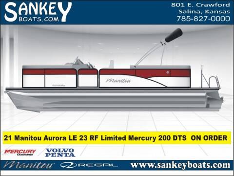 2021 Manitou Aurora LE RF 25 VPII for sale at SankeyBoats.com in Salina KS