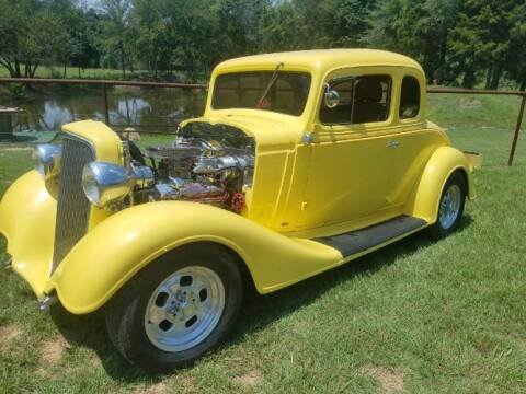 1934 Chevrolet Master Deluxe for sale at Classic Car Deals in Cadillac MI