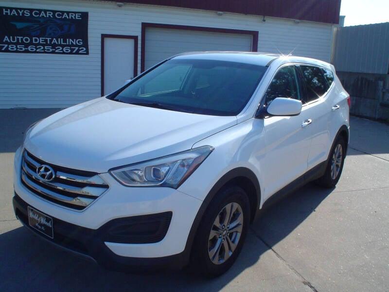 2015 Hyundai Santa Fe Sport for sale at World of Wheels Autoplex in Hays KS