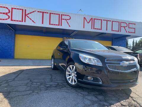 2013 Chevrolet Malibu for sale at Boktor Motors in Las Vegas NV