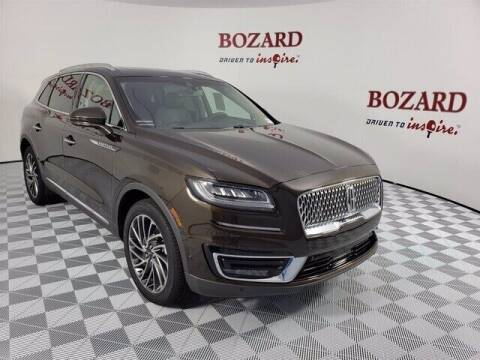 2020 Lincoln Nautilus for sale at BOZARD FORD in Saint Augustine FL