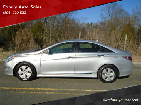 2012 Hyundai Sonata Hybrid for sale at Family Auto Sales in Rock Hill SC