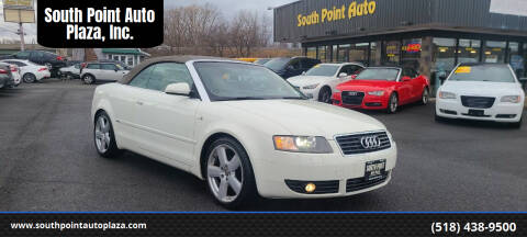 2006 Audi A4 for sale at South Point Auto Plaza, Inc. in Albany NY