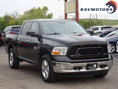 2017 RAM Ram Pickup 1500 for sale at RAVMOTORS in Burnsville MN