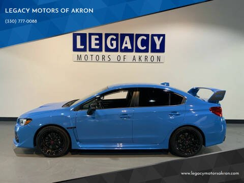 2016 Subaru WRX for sale at LEGACY MOTORS OF AKRON in Akron OH