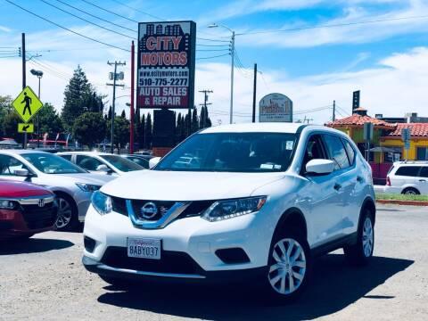 2016 Nissan Rogue for sale at City Motors in Hayward CA