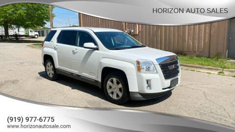 2012 GMC Terrain for sale at Horizon Auto Sales in Raleigh NC