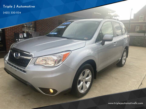 2014 Subaru Forester for sale at Triple J Automotive in Erwin TN