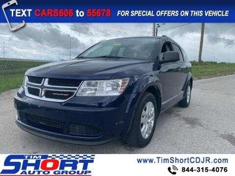 2017 Dodge Journey for sale at Tim Short Chrysler in Morehead KY