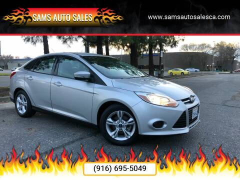 2013 Ford Focus for sale at Sams Auto Sales in North Highlands CA