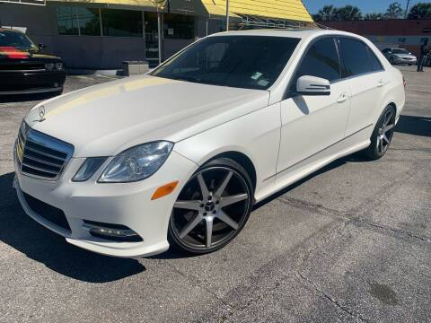 2012 Mercedes-Benz E-Class for sale at Castle Used Cars in Jacksonville FL