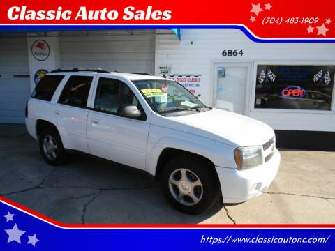 2009 Chevrolet TrailBlazer for sale at Classic Auto Sales in Maiden NC
