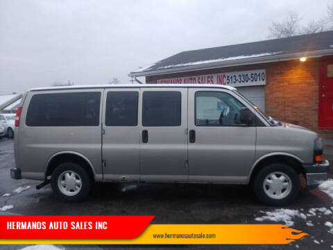 2006 Chevrolet Express Cargo for sale at HERMANOS AUTO SALES INC in Hamilton OH