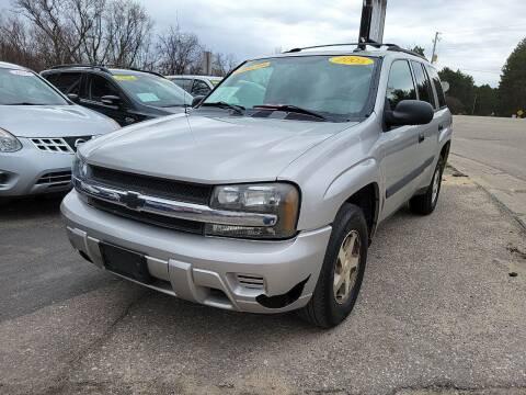 2005 Chevrolet TrailBlazer for sale at Hwy 13 Motors in Wisconsin Dells WI