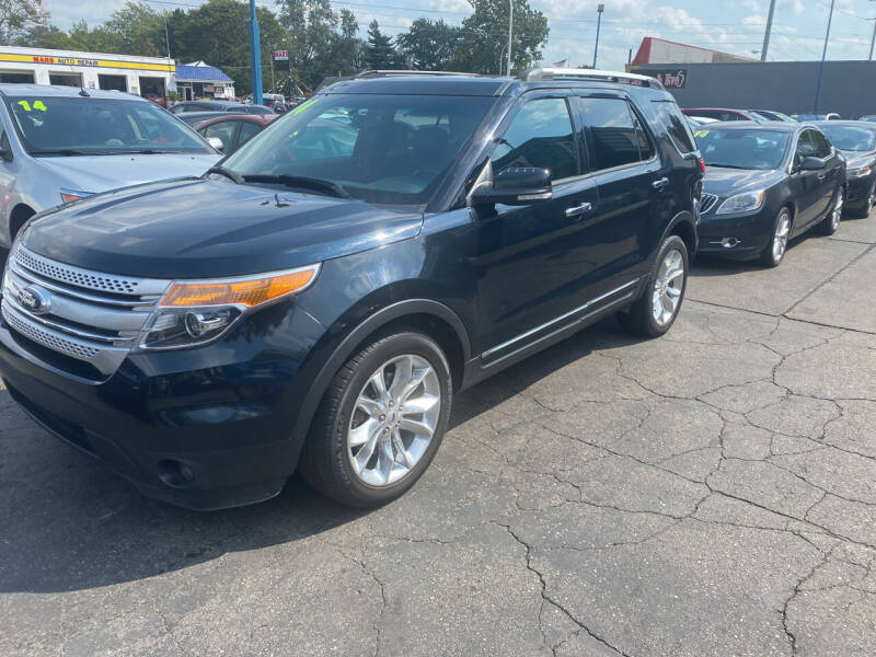 2014 Ford Explorer for sale at Lee's Auto Sales in Garden City MI