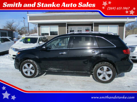 2012 Acura MDX for sale at Smith and Stanke Auto Sales in Sturgis MI