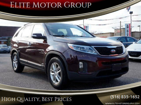 2015 Kia Sorento for sale at Elite Motor Group in Farmingdale NY